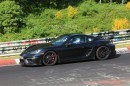 Porsche 718 Cayman GT4 Looks Ready for Debut in Nurburgring Spyshots