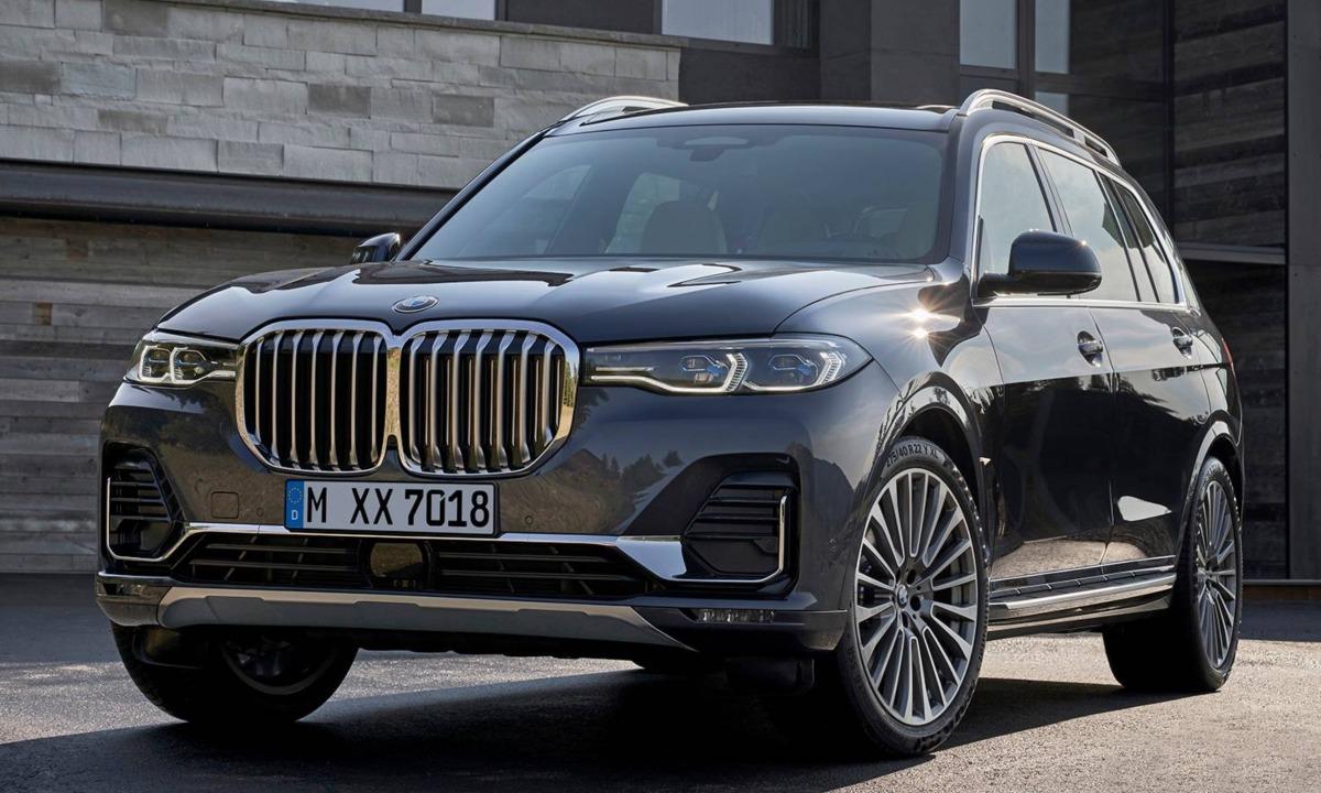 New BMW X7 Big SUV